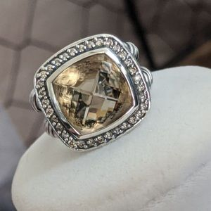 David YURMAN 14mm Champagne Citrine Albion Ring